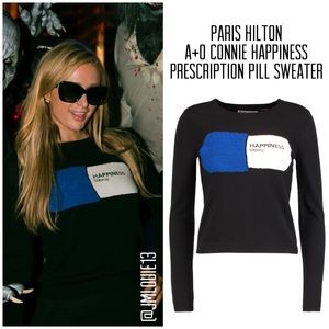 Alice + Olivia Connie Happiness Pill Sweater